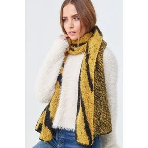 Forever 21 Tiger Stripe Scarf - NWT